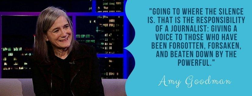 Amy Goodman Quote